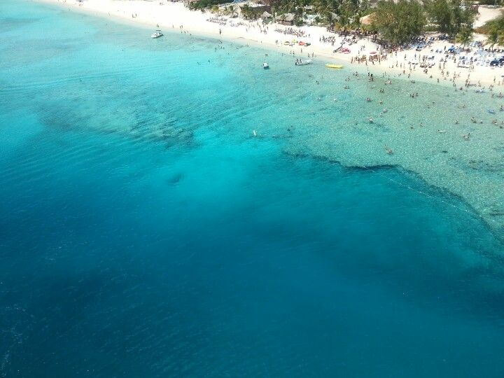 Grand Turk, Turks and Caicos Snorkeled on the drop off in ...