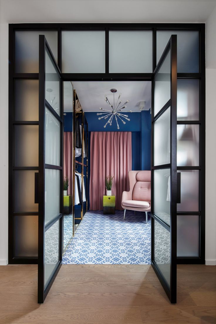 Swathes of bright colour combine with patterned ceramic tiles in the Hong  Kong apartment home of   Hallway DesignsHongkongDesign. 17 best ideas about Residential Interior Design on Pinterest