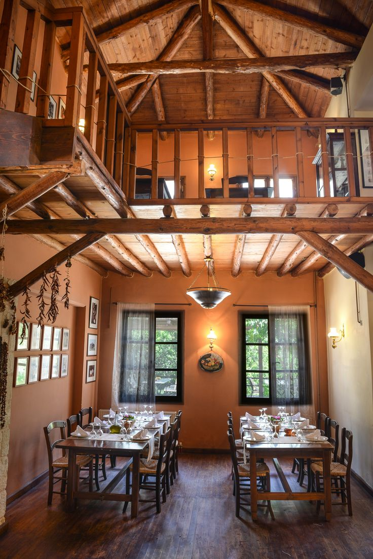 Restaurant Enagron Ecotourism Village, Axos, Rethymno, Crete, Greece http://www.enagron.gr