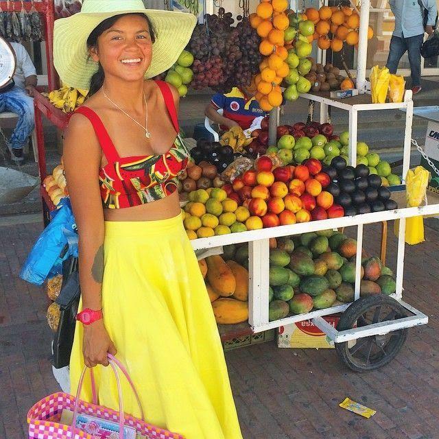 Liliana Saumet, cantante colombiana de Bomba Estéreo. #ellasnosinspiran