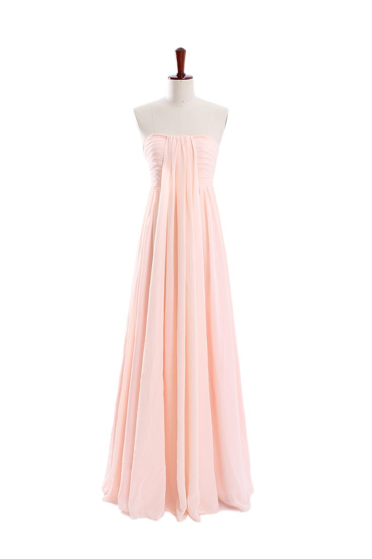 Beauty sleeveless chiffon bridesmaid gown  Read More:     http://www.weddingsred.com/index.php?r=beauty-sleeveless-chiffon-bridesmaid-gown-4.html