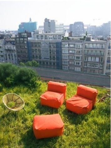 """Tuinarchitectuur, Antwerp, Rooftop Garden. Must be included in your #Antwerp #travel #BucketList #hotel #list #local. To discover and collect amazing bucket lists created by local experts, visit """"City is Yours"""" http://www.cityisyours.com/explore."""