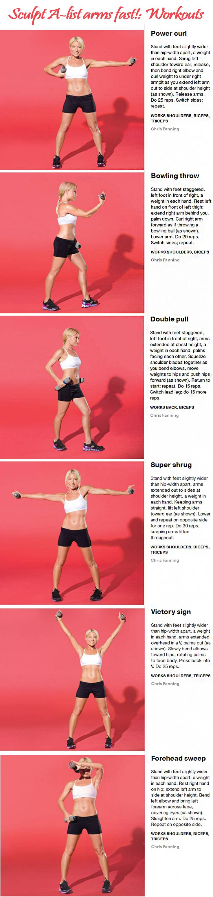 Tracy Anderson Arm workout