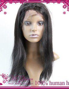 JFLDMA® la promotion de qualité supérieure brésilien virgin lace frontal cheveux humains perruque moitié 130% # 1 # 1b # 2 # 4 perruques…