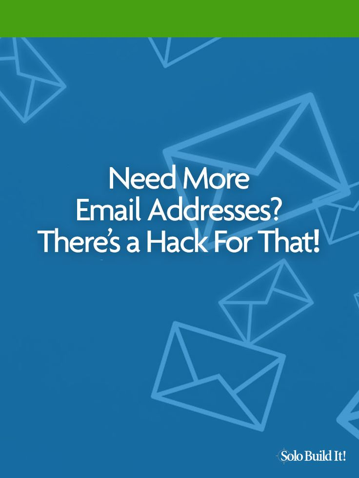 Need More Email Addresses? There's a Hack For That! #EmailMarketing #ContentMarketing