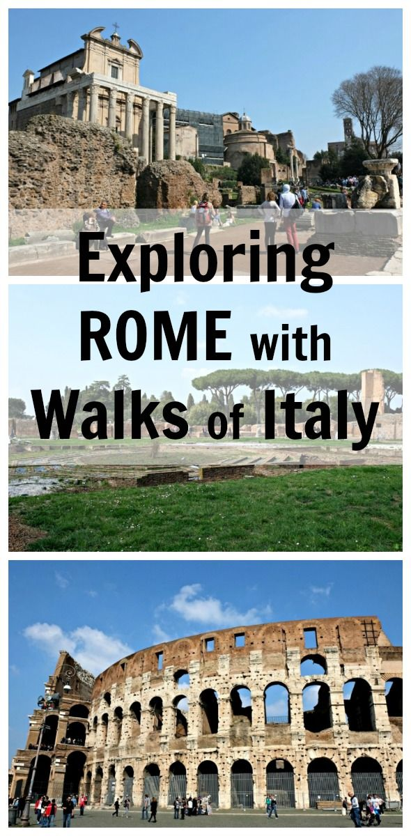 When I was in Rome, I visited the Colosseum, Palatine Hill and the Roman Forum with Walks of Italy. It was great: we got to skip the lines and had access to parts of the Colosseum regular visitors couldn't get to!
