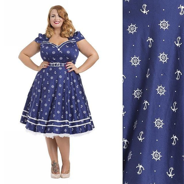 Oh heyyyyy girl! Check out that strange looking being modelling @voodoovixenldn's Joni dress. I love this one! ⚓️ H&MU by the wonderful @retrocrow