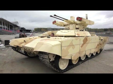 Russian military unveils DEADLY TANKS to scare US military - YouTube