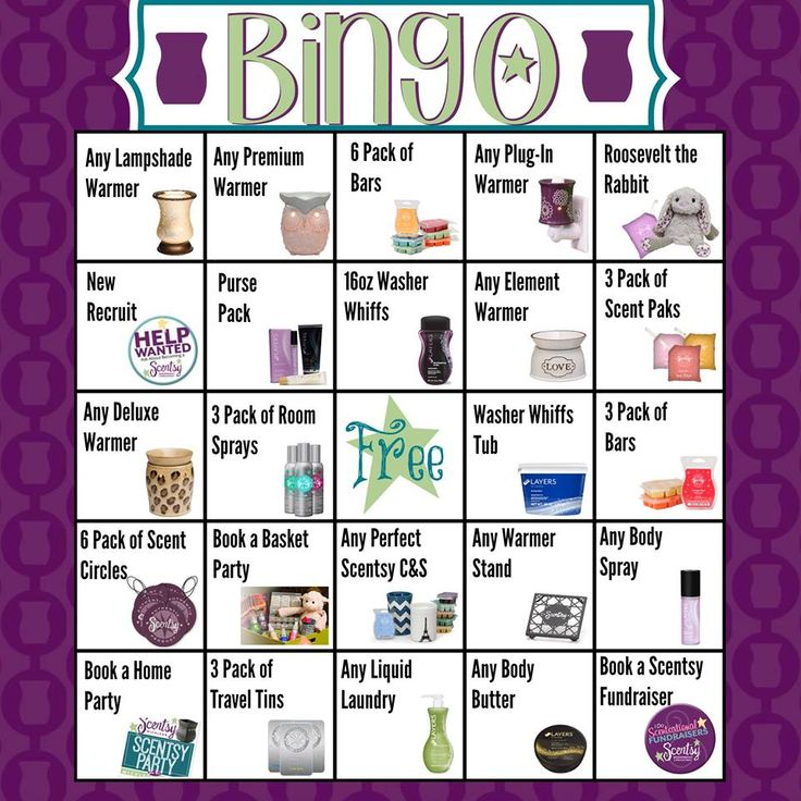 48 Best Images About Scentsy On Pinterest Bingo Mystery Hostess And Last C