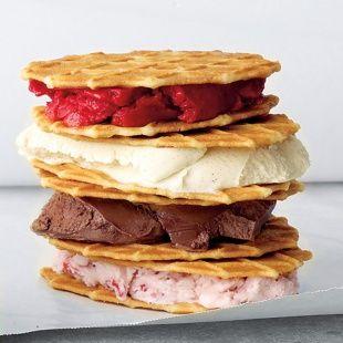 Ice-Cream Sandwiches: The Defining Dessert of Summer and more on MarthaStewart.com