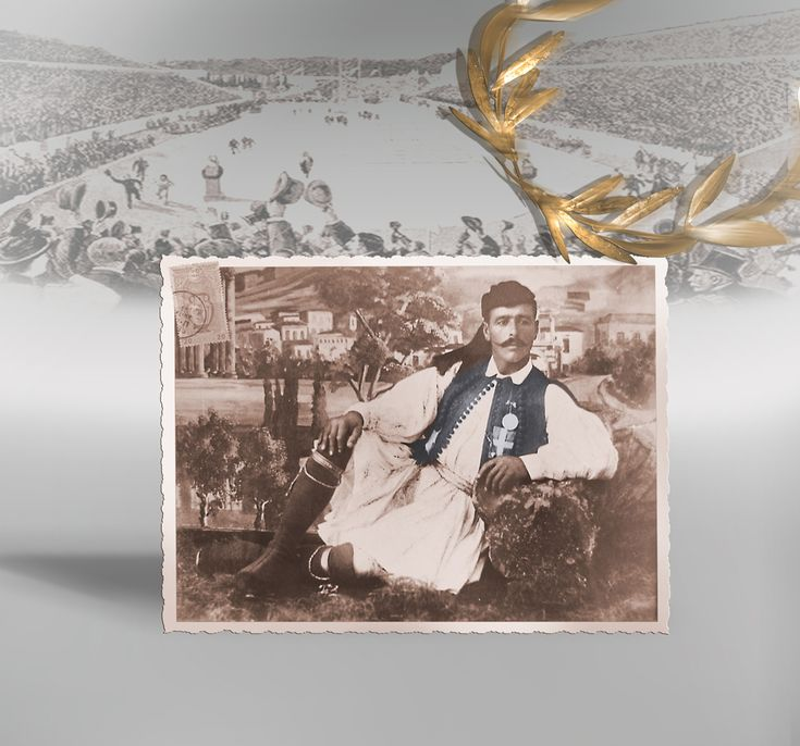 As the winner of the first Athens Olympic marathon in 1896 Spyridon Louis remained in history.His unexpected triumph gave Greece its only victory in a track & field athletics event at the 1896 Olympics Games and Louis was accorded the status of a national hero. Despite the acclaim, Louis returned to his village of Amarousi, where he worked as a shepherd and mineral water seller, and he never raced again.He remained an Olympic legend and the 2004 Olympic Stadium was named after him
