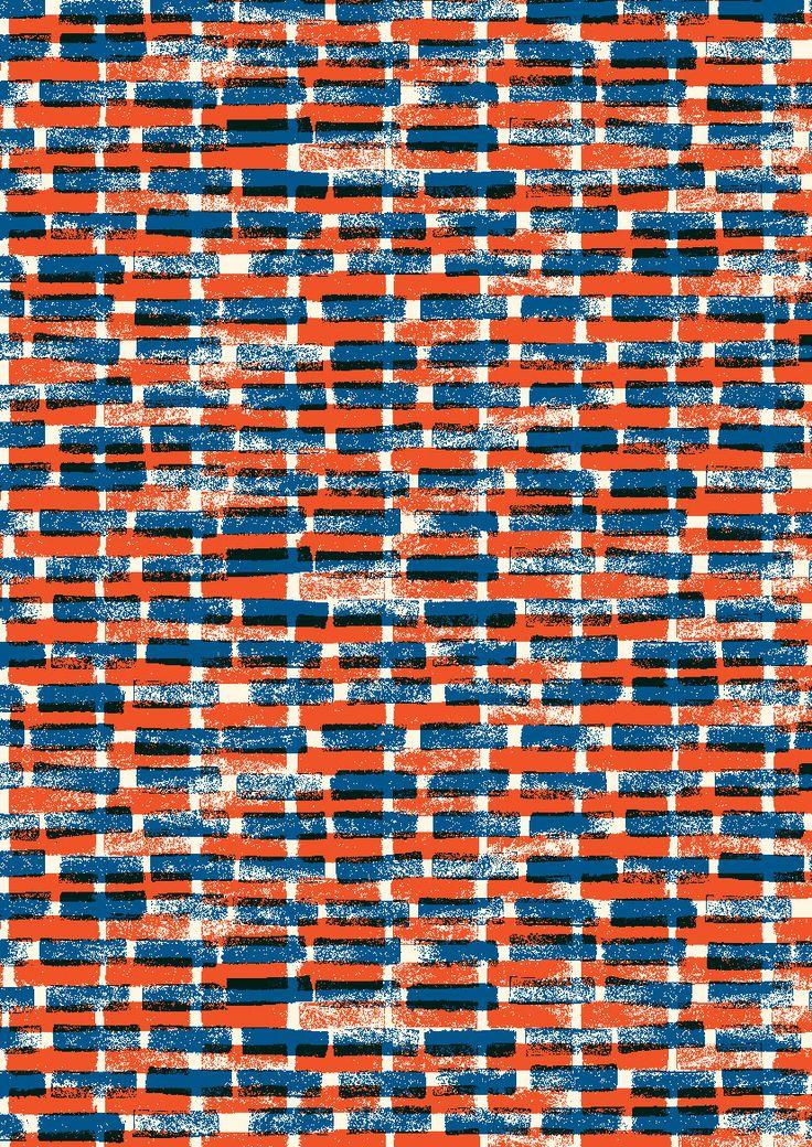 Pattern design - pattern by Minakani #minakani #pattern #rectangles #stripes #ethnic