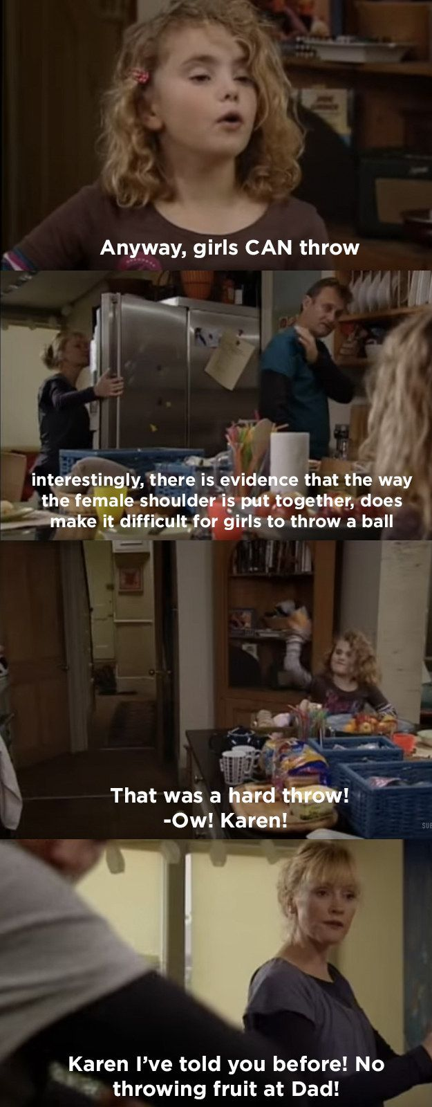 """And when she used it to make a point:   21 Times Karen From """"Outnumbered"""" Was The Funniest Kid In Britain"""