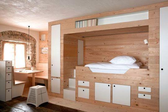 """Ambiance design : la chambre """"Winterstaube"""""""