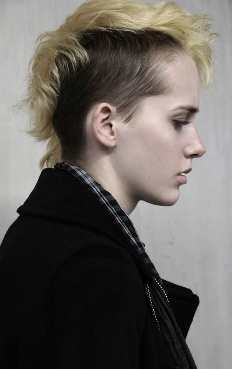 Pin By Zoanthrcpy On Dyke Fashion Hair Styles 2014 Fall