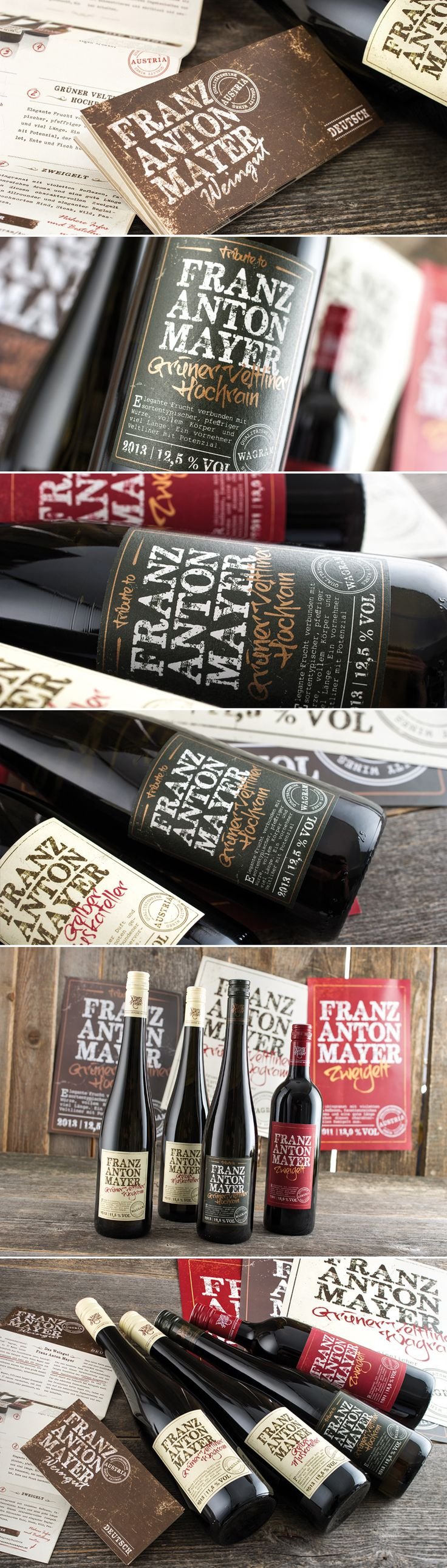 WEINGUT FRANZ ANTON MAYER // Packaging: By www.impack.at