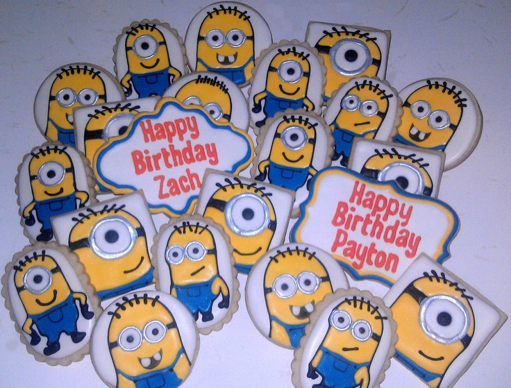 111 Best Images About Cookies Despicable Me On Pinterest