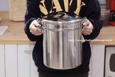 아이자와공방 20cm 양수 파스타냄비 - 디애플하우스