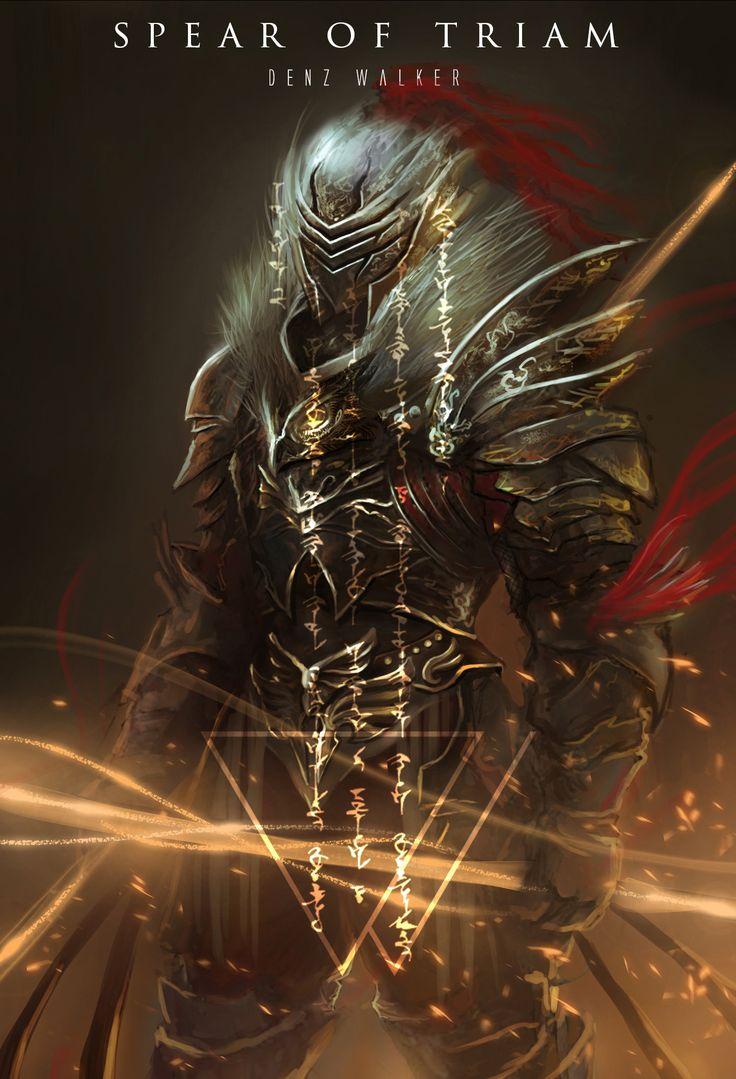 ArtStation - Spear of Triam, Denz Walker