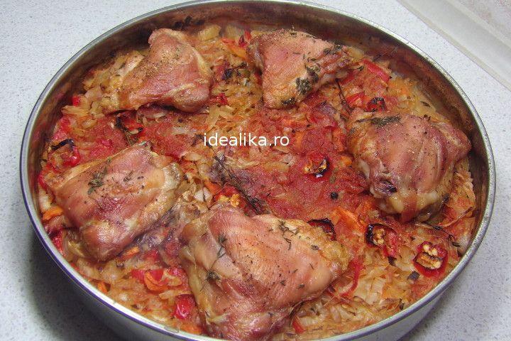 Varza cu pui la cuptor dupa reteta propusa in dieta Dukan este o reteta dietetica extrem de gustoasa si usor de preparat, o modalitate gustoasa de a slabi