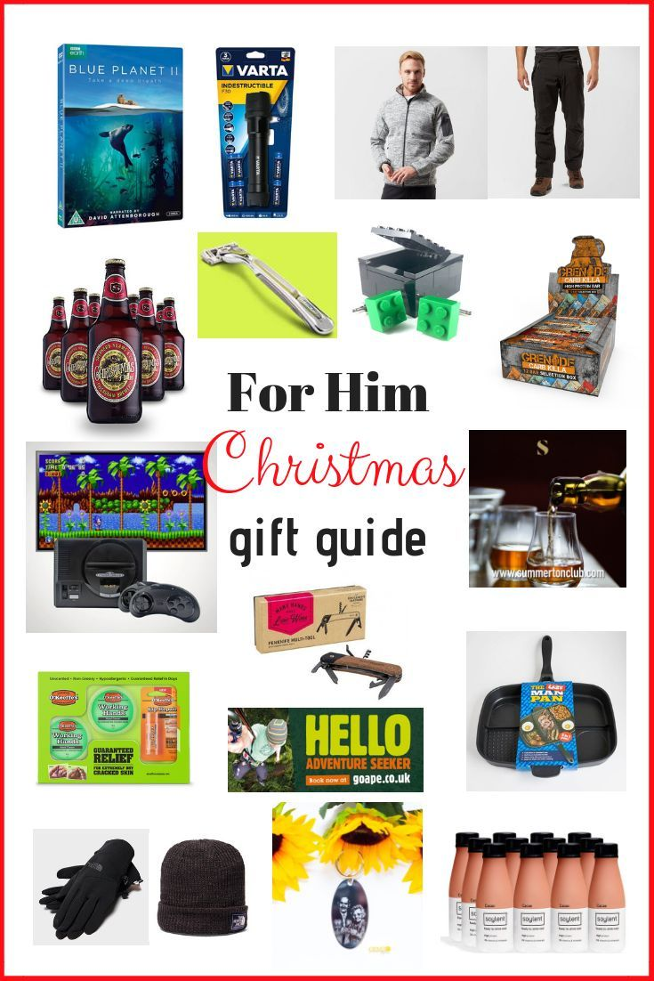 For Him Christmas Gift Guide 2018