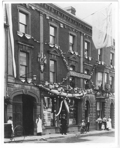Dowling and Sherwood, Bridge Street, Andover 1897