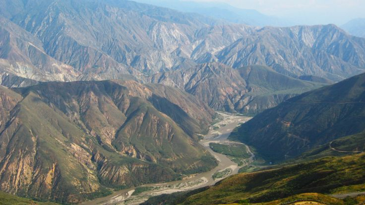- The Chicamocha Canyon is a landform in Colombia located on the banks of the river Chicamocha, during his tour of the departments of Boyacá and Santander mainly.
