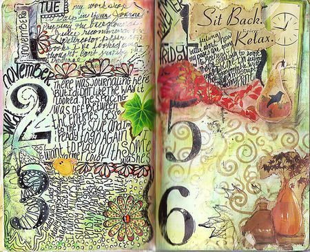 30 DAYS IN YOUR JOURNAL: STUDENT ARTWORK WEEK 1
