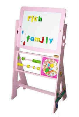Tigris Wholesale Pink Drawing Easel and Board  - Availability: in stock - Price: £38.39
