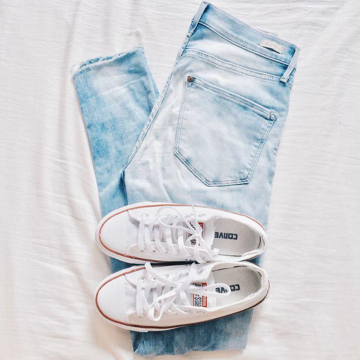 Jeans H&M  Converse