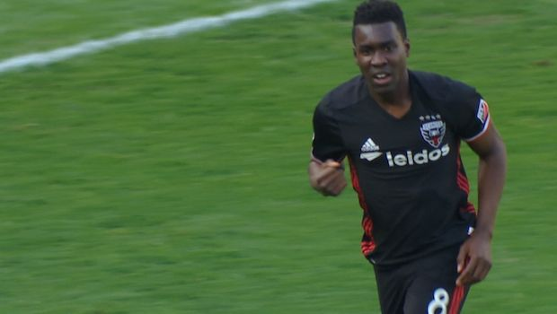 GOAL | Lloyd Sam scores first of year to make it 1-0 against NYC - Via DC United