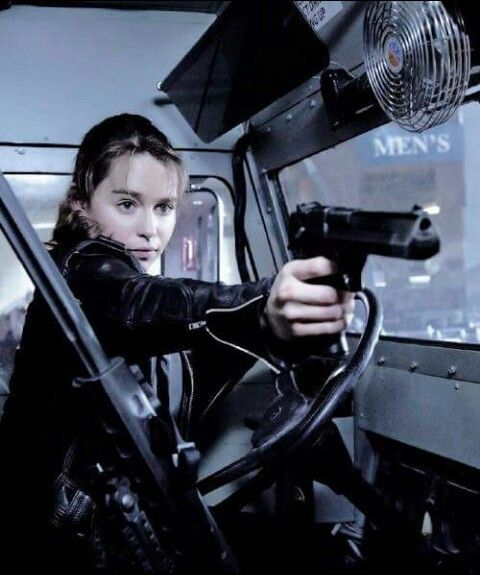 """(Open w/ Holly) I climb into one of the trucks as the fences start to collapse. """"Get in!"""" I say, throwing the door open and shooting one of the Corpses that's closing in on you. """"I said get in!"""""""