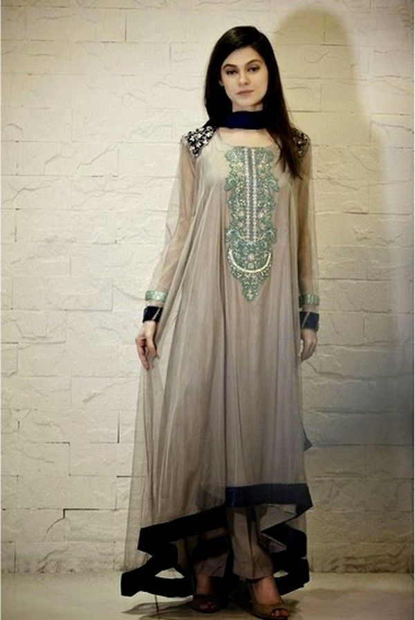 Designer Dresses, Eid Dresses, Eid-Collection, Embroidery, Evening Wear, Formal Dresses, Maria B, Pakistan Fashion, Party Wear, Ready To Wear