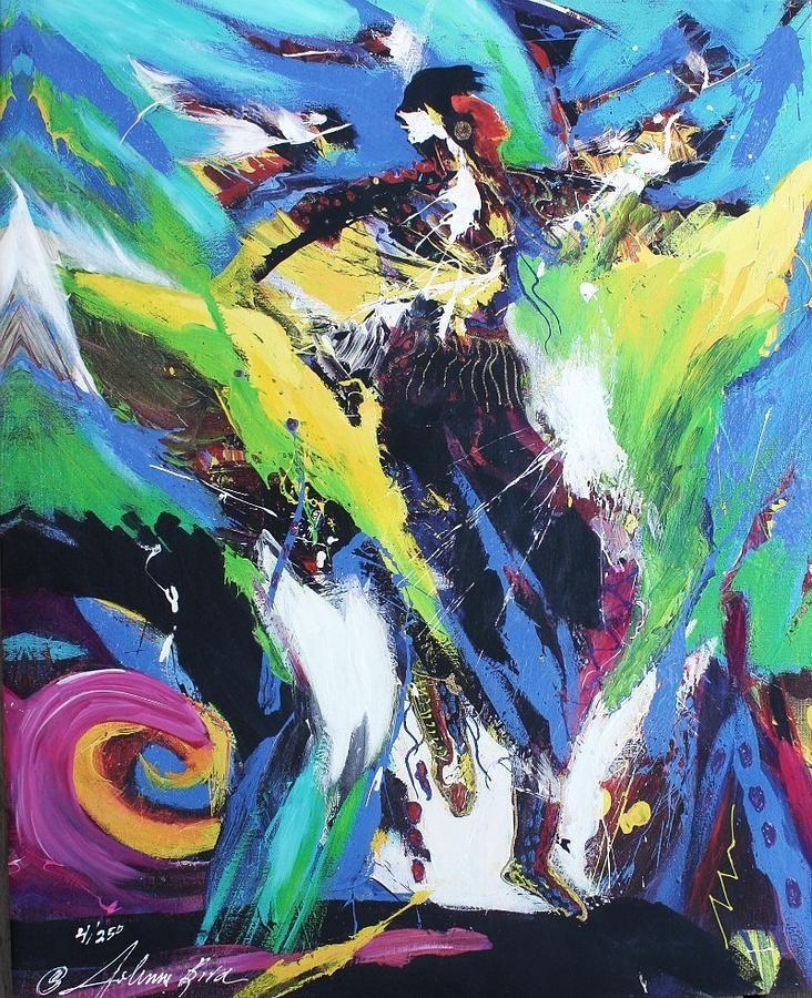 Universal Dancer by JoAnne Bird