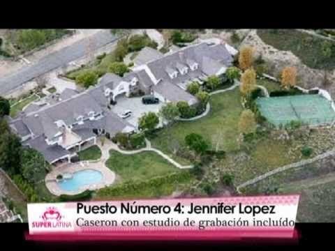 Awesome vocab for LA CASA...in a real Spanish segment: Top 5 SuperLatina: Las Mansiones de los Famosos