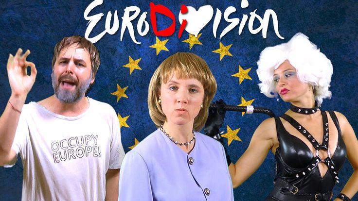 The EuroDiVision Contest - feat. Angela Merkel, Slavoj Žižek & IMF [RAP ...