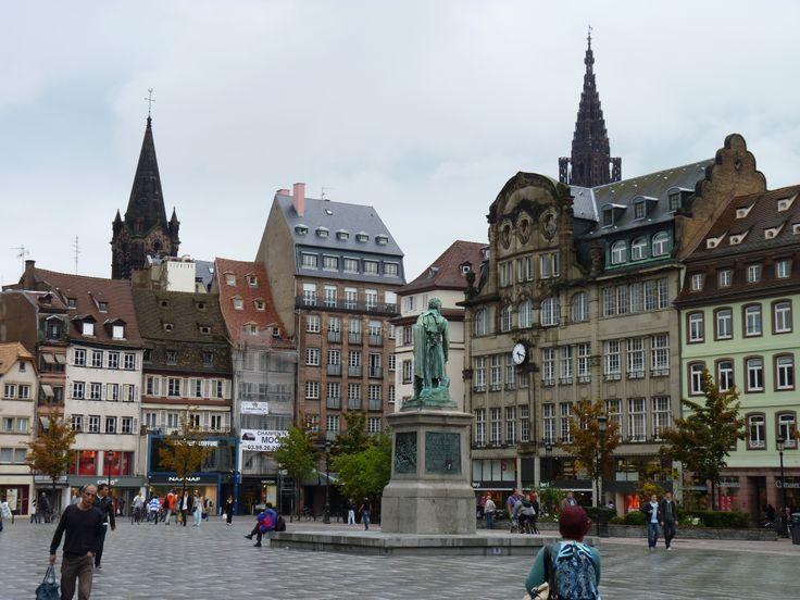 Strasburg. Plaza de Kleber.
