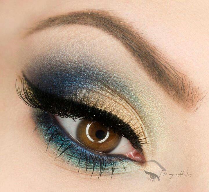 pretty hazel eyes | Pretty make-up for brown/hazel eyes | Health Beauty