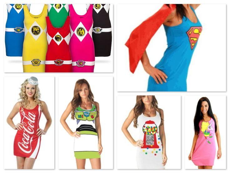 Cute Costumes for Teenage Girls Halloween Costumes – Tunic Tank Dresses