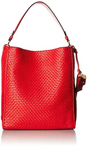 Cole Haan Woven Collection Zoe Bucket Review Bucket Handbags, Cole Haan,  Orange, Collection 3aa7f092c1