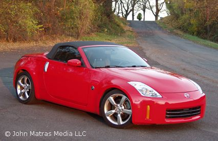 nissan 350z convertible red - Google Search