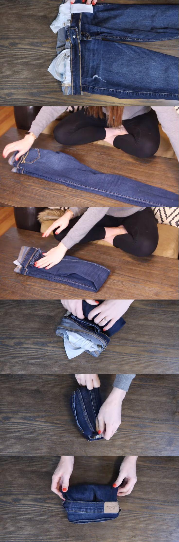 9 truques ilustrados para tudo dobrar perfeitamente e colocar no …   – Interessant