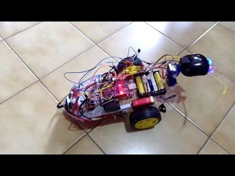 Robot  Arduino + Module d'enregistrement vocal ISD                                                                                                                                                                                 Plus