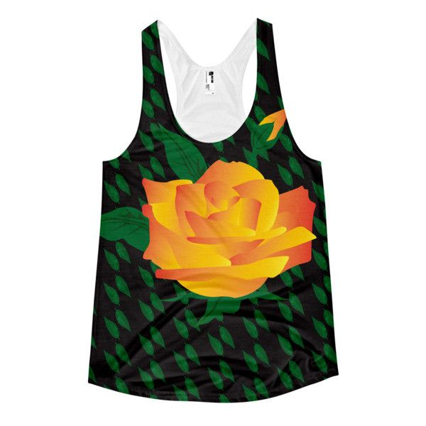 CS Exclusive Women's Racerback Tank Fire Flower
