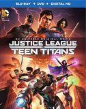 Justice League vs Teen Titans [Blu-ray/DVD] [2 Discs] [Eng/Fre/Spa/Tha] [2016]