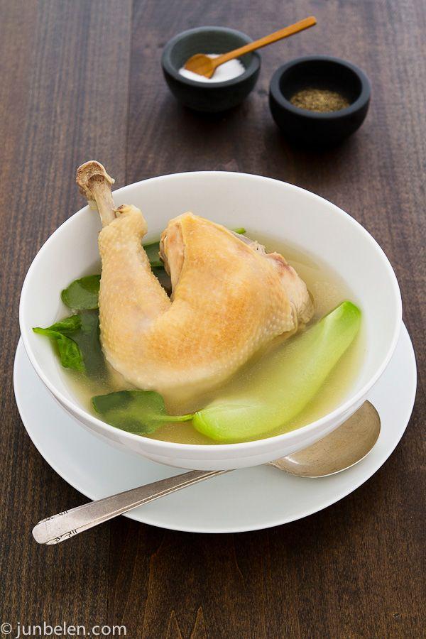 Chicken Tinola Recipe, makes six servings