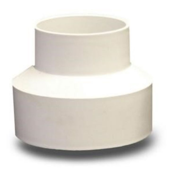 4 In. x 3 Inch Solvent Weld Reducer PVC Coupling