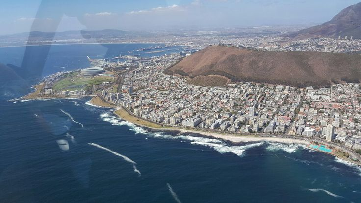 Cape Town from the air