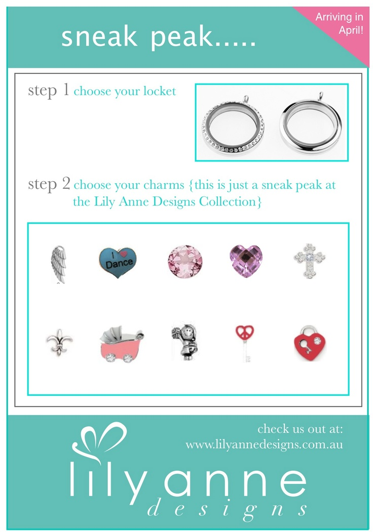 Sneak Peak of the Lily Anne Designs Collection - available in April!