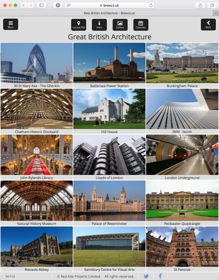 Browzz.uk is your free guide to the UK's Quintessentially Great British Architecture